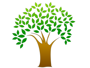 illustration-of-a-tree-with-leaves